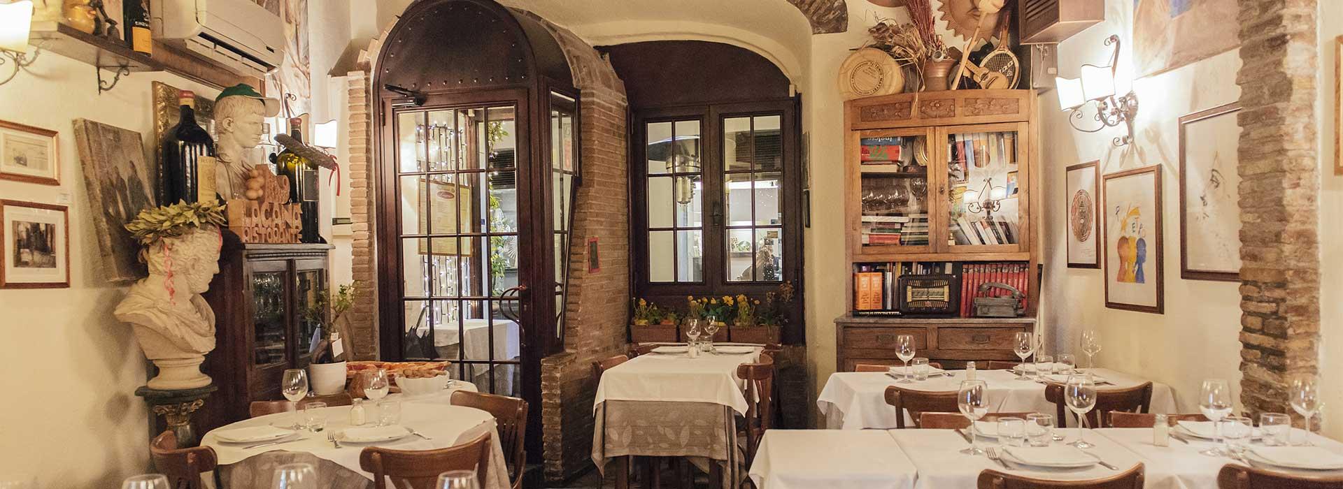 Restaurante vegetariano en Roma