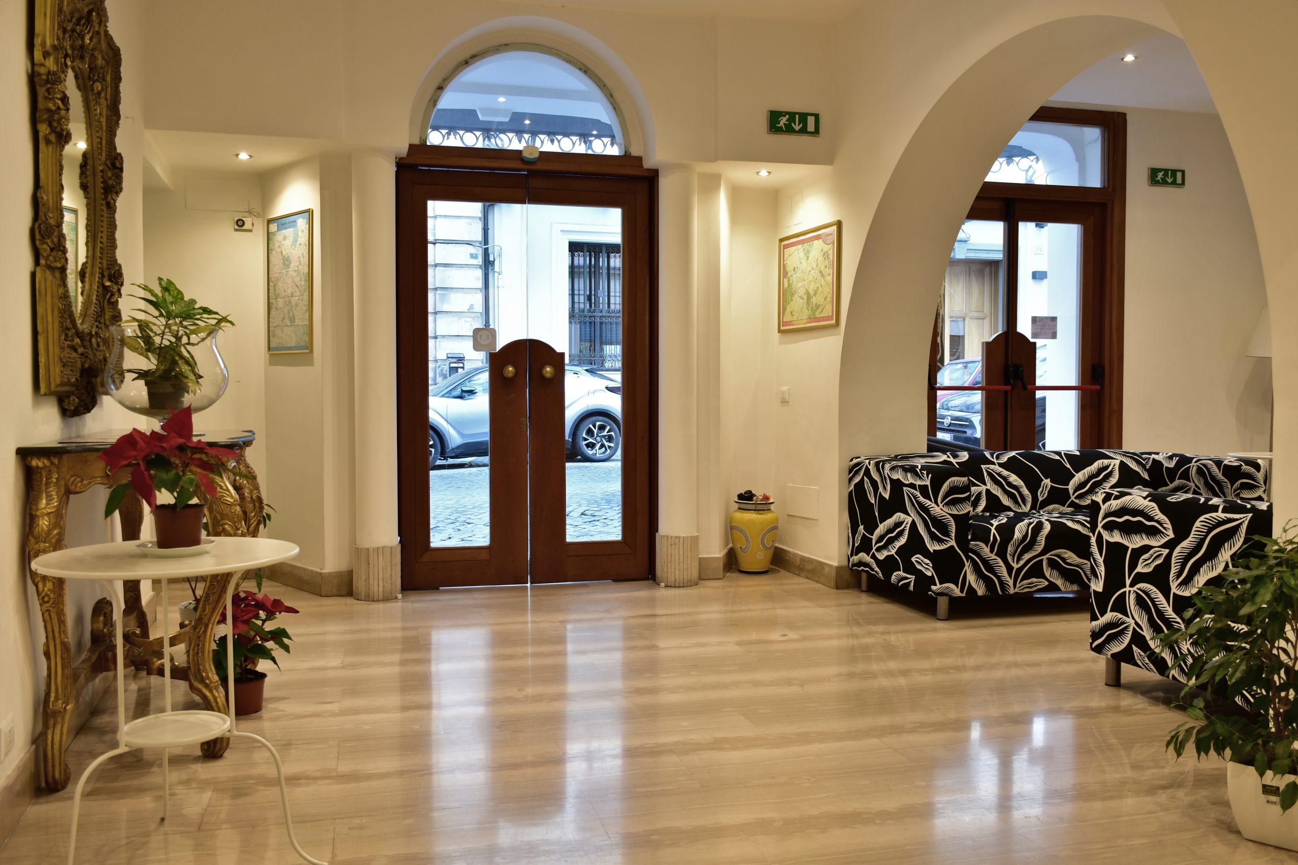 Hotel 3 stelle in centro di Roma